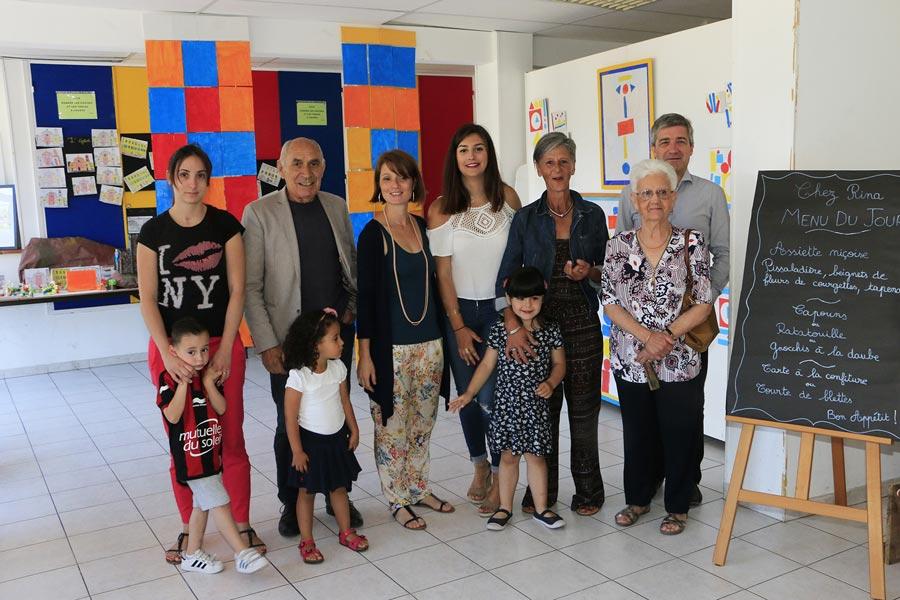 École des Moulins : les enfants exposent leurs créations