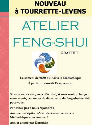Affiche Atelier Feng Shui
