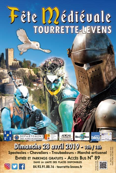 Calendrier Fete Medievale.Fete Medievale Tourrette Levens
